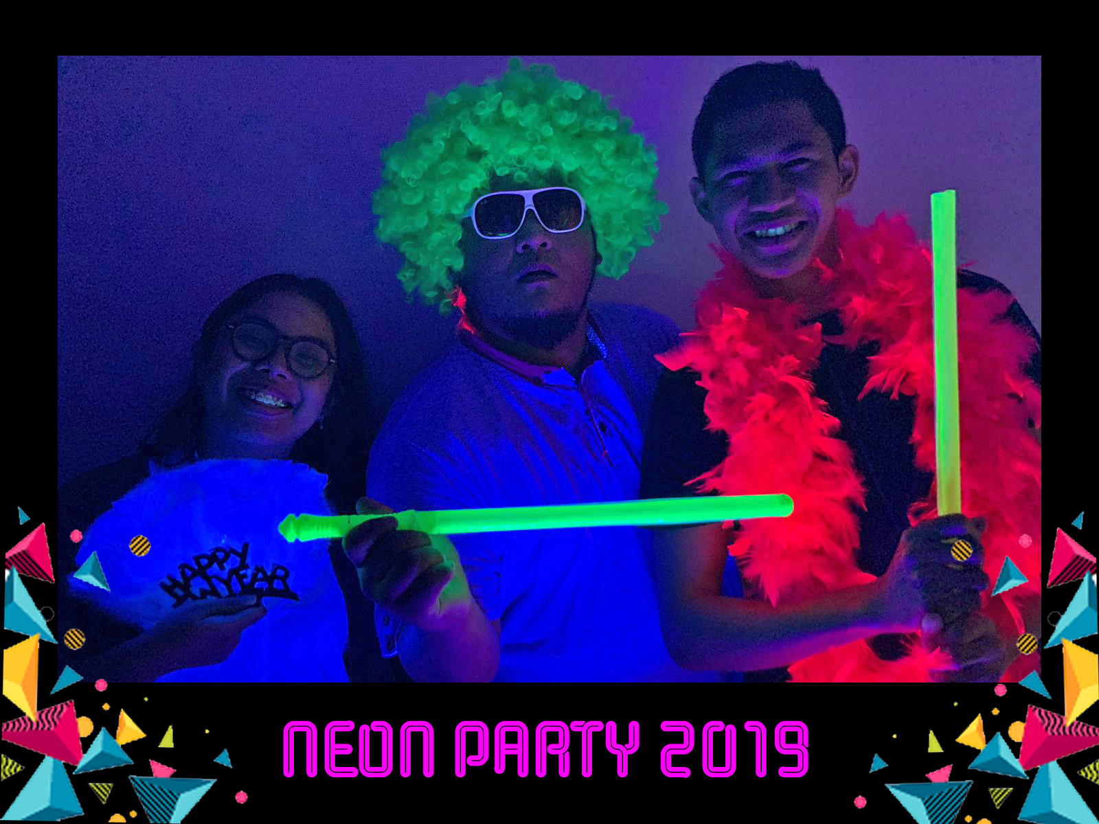 UV Glow Photo Booth 1